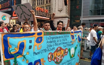 LVEJO Joins the Peoples Climate March